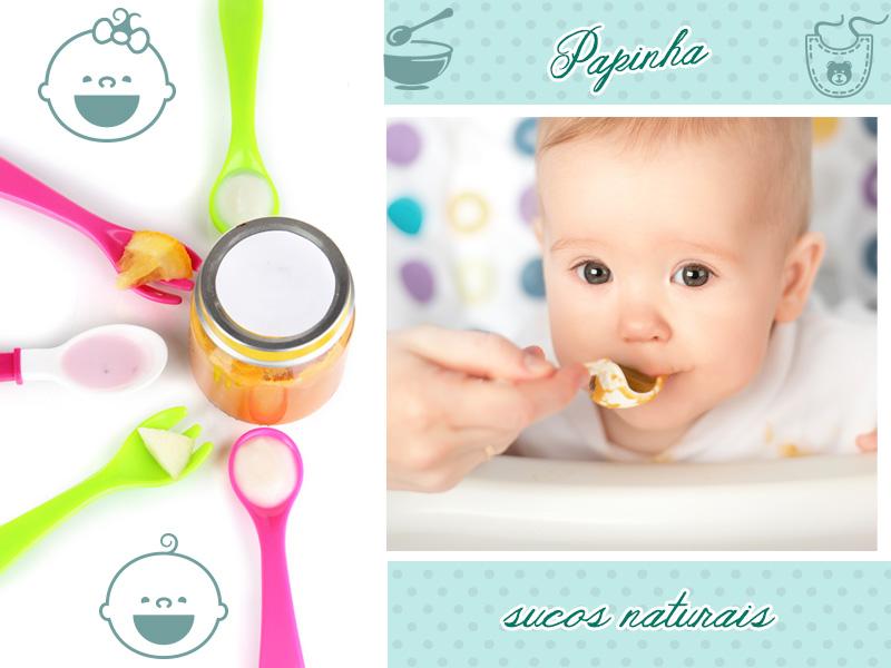 Alimentação saudável para o seu bebê