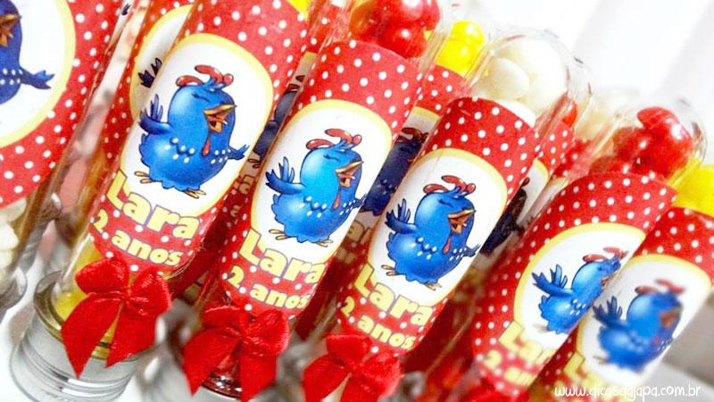Dicas da japa festa da galinha pintadinha tubetes personalizados