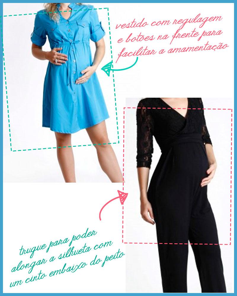 Dicas para roupas de gestante vestido macação