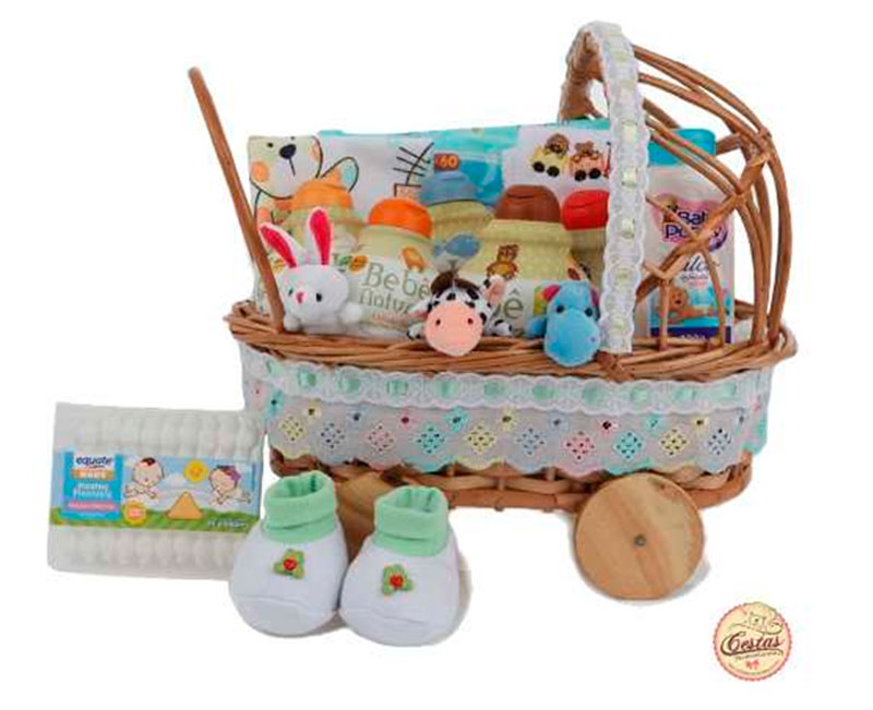 presentes para natal cesta para bebes