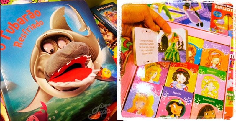presentes para natal livros infantil