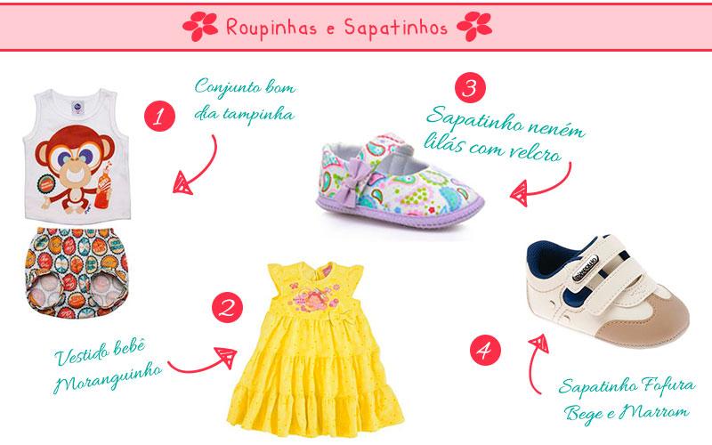 presentes para natal roupinhas e sapatinhos