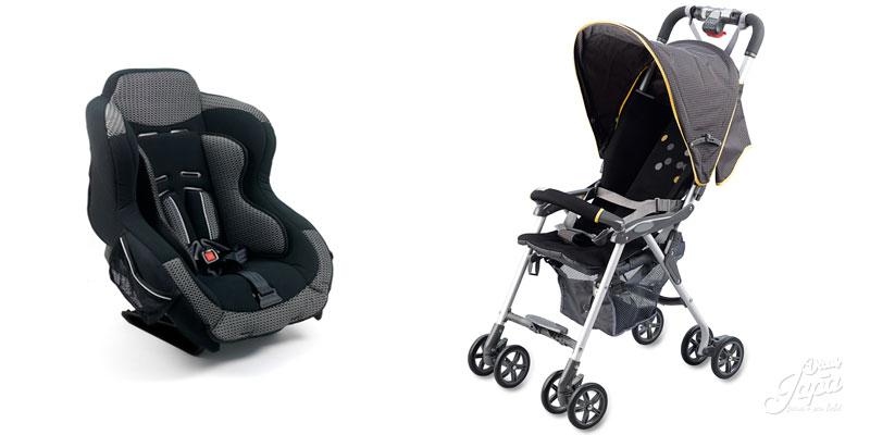 Lista de enxoval de bebê Itens para passeio Parte 5 carrinho