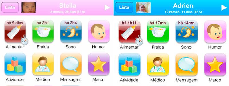 Aplicativos para bebês