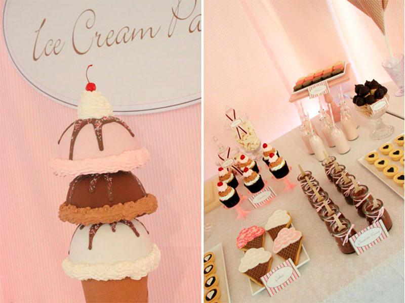 Festa tema sorvete 6