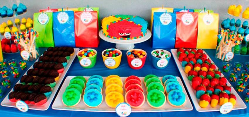 Como montar uma mesa de doces para festa infantil