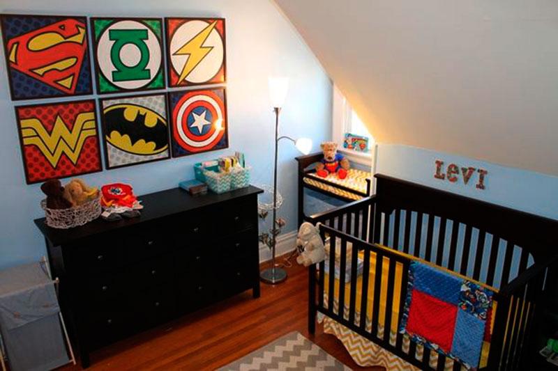 Decoração de quarto de menino 17