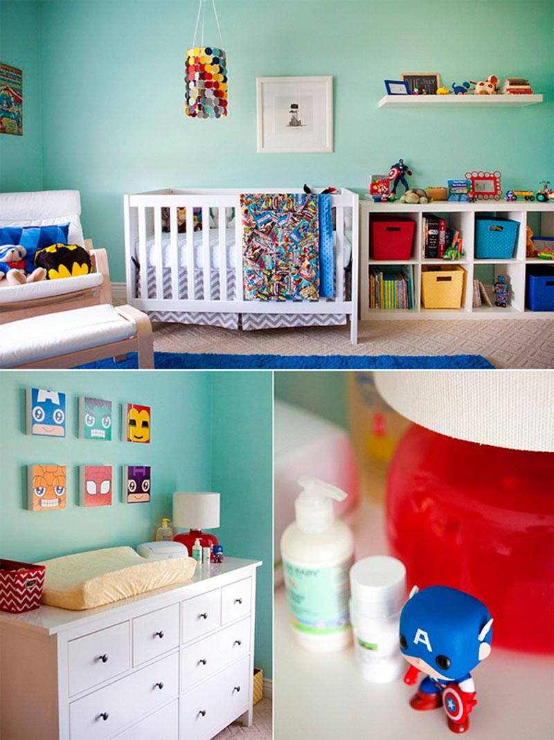 Decoração de quarto de menino 19