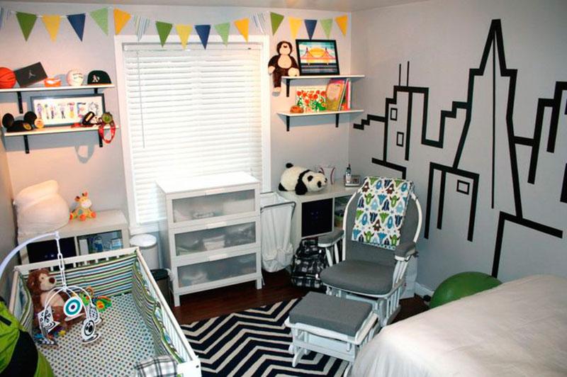 Decoração de quarto de menino 7