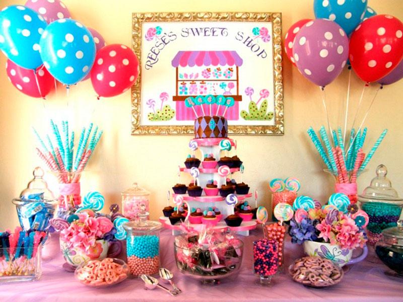 Mesas de doces para festa infantil 11