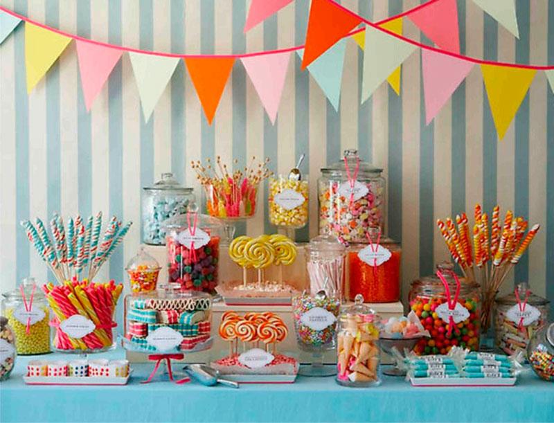 Mesas de doces para festa infantil 12