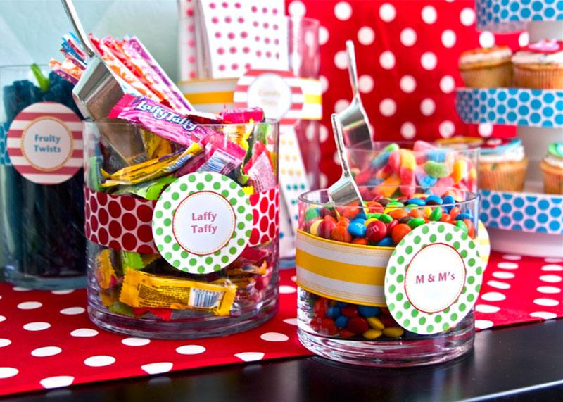 Mesa de doces para festa infantil 3.1