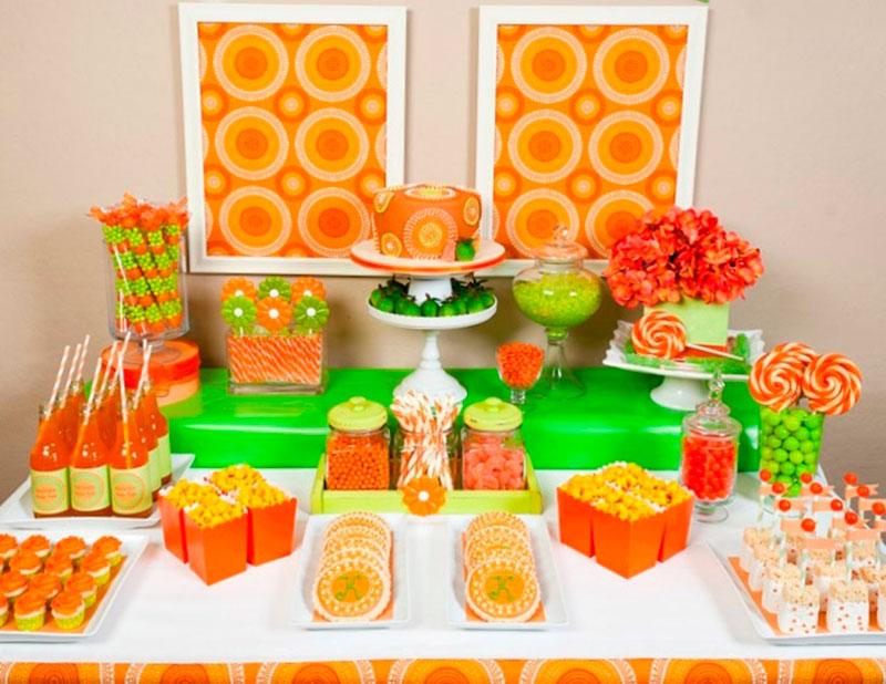 Mesas de doces para festa infantil 6