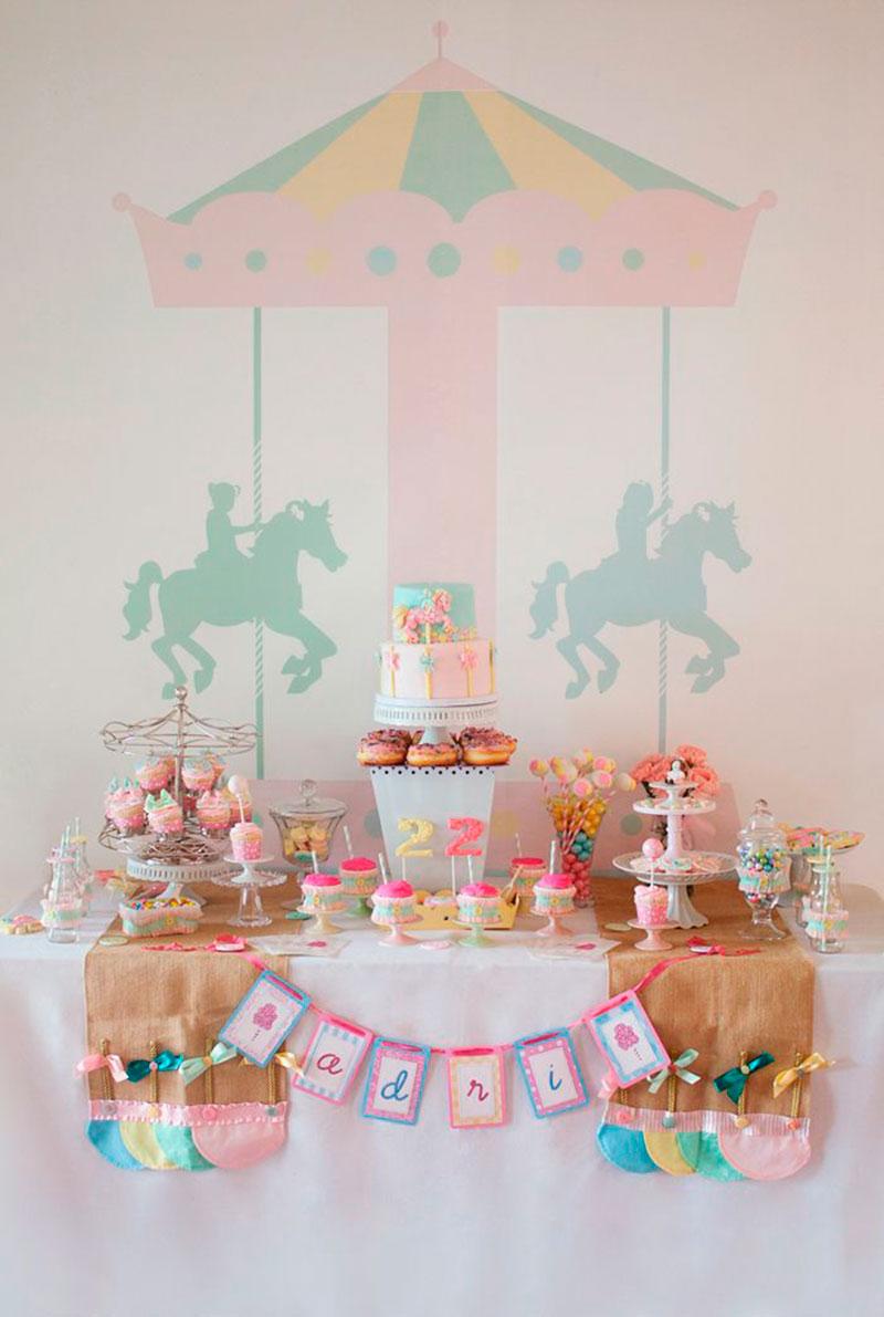 Mesas de doces para festa infantil 8