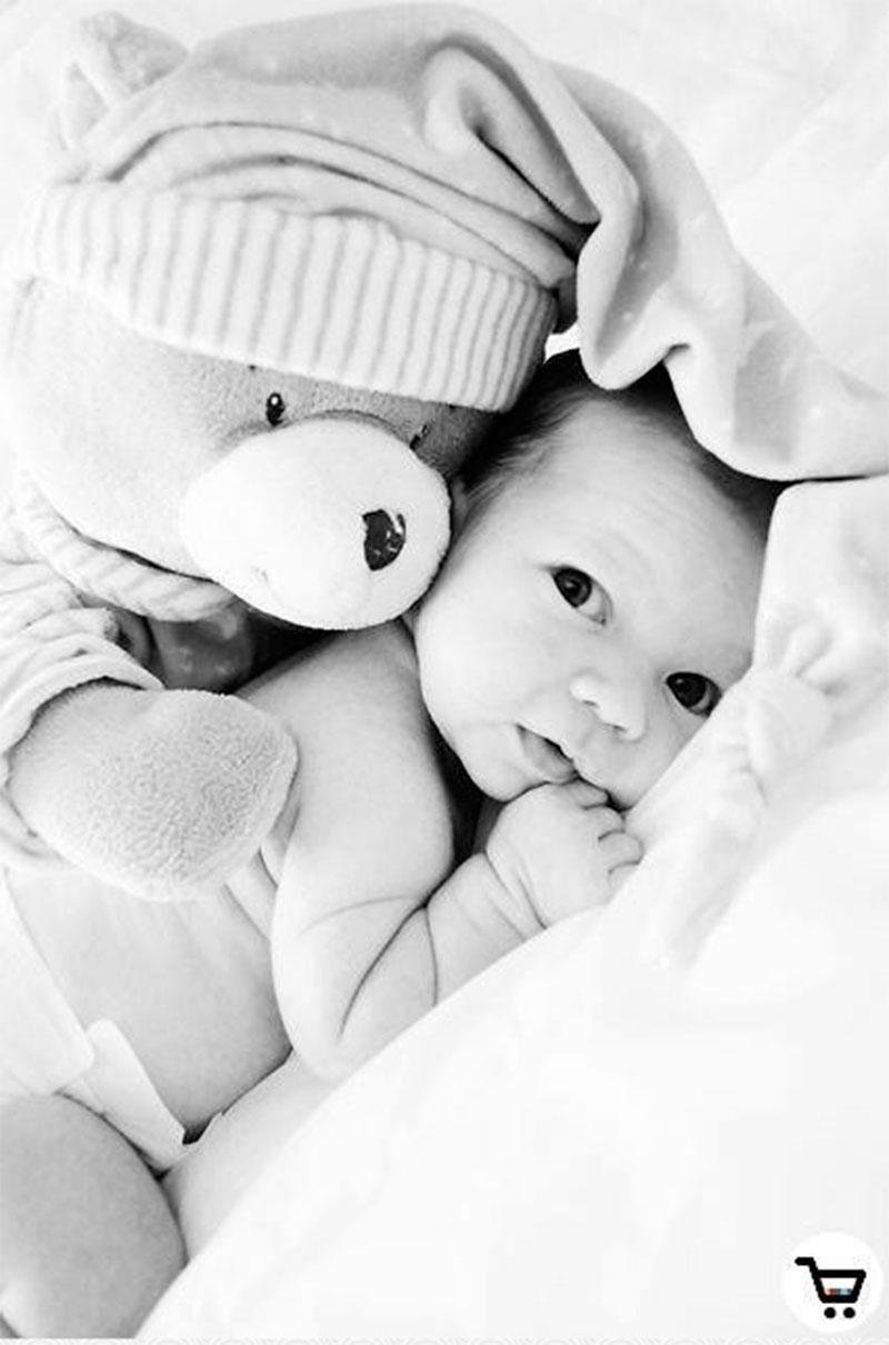 Ideias de como tirar foto de bebê