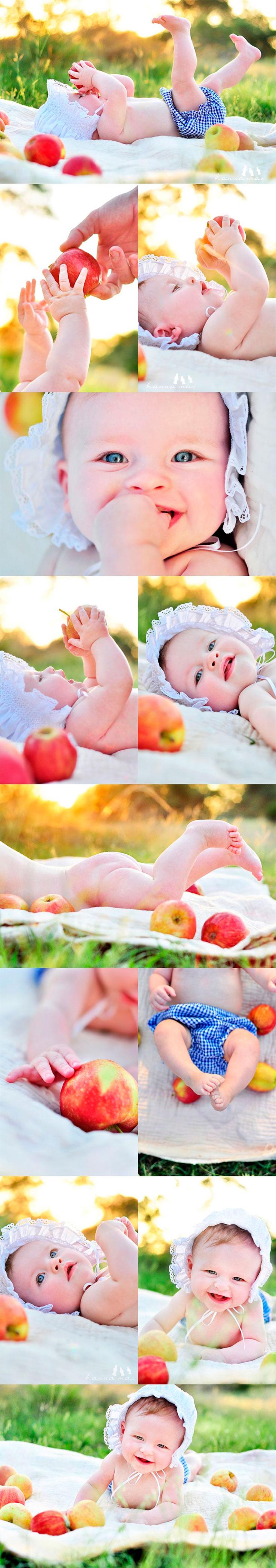 Ideias de como tirar foto de bebê-11