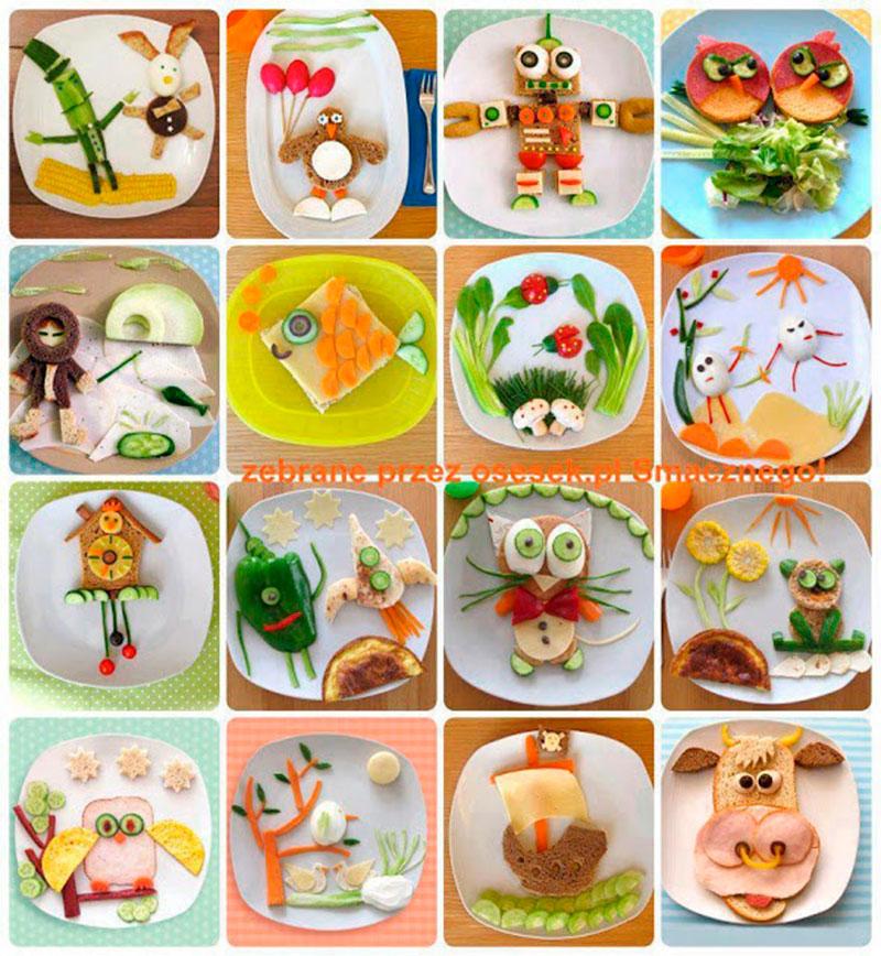 Pratos divertidos para criança 11