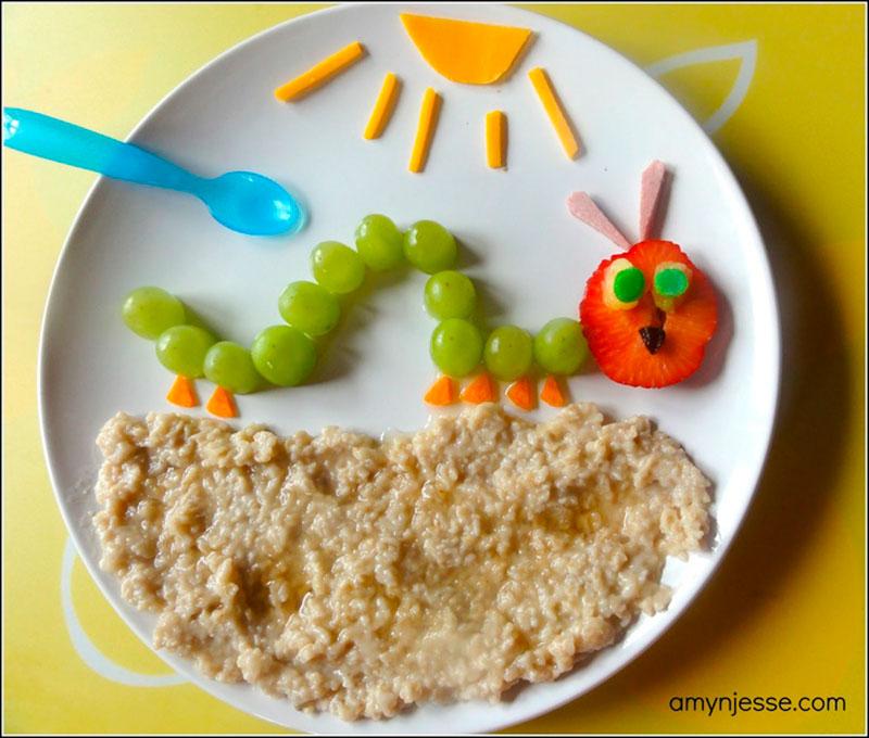 Pratos divertidos para criança 2