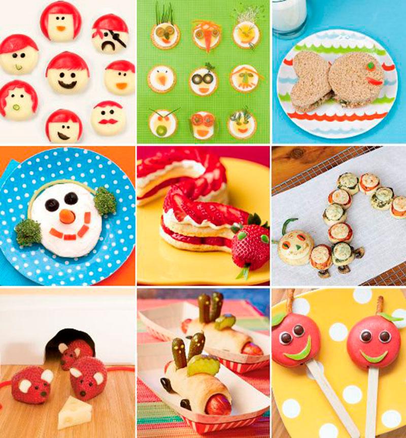 Pratos divertidos para criança 9