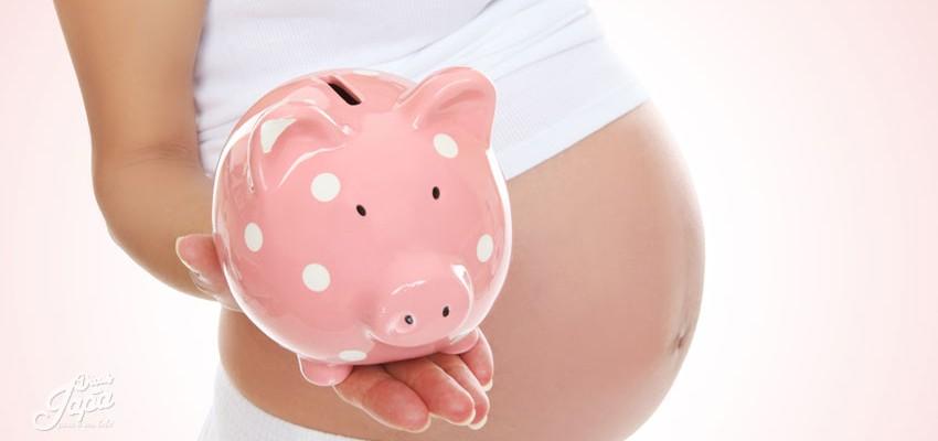 Os gastos durante a gravidez