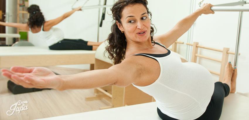 Benefício do Pilates na gravidez