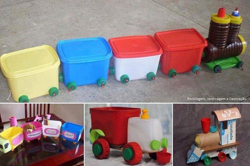 utensílios de casa para brincar