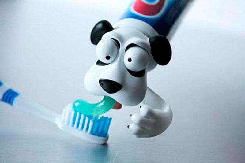 escovar os dentes mais divertido
