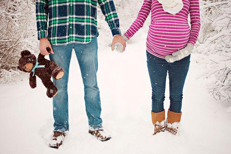 foto com papai e mamae