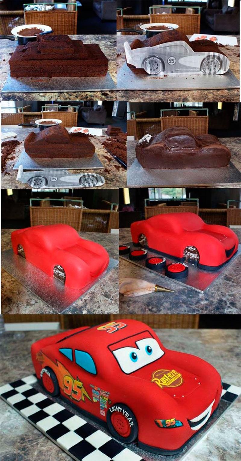 Montar bolo infantil 13