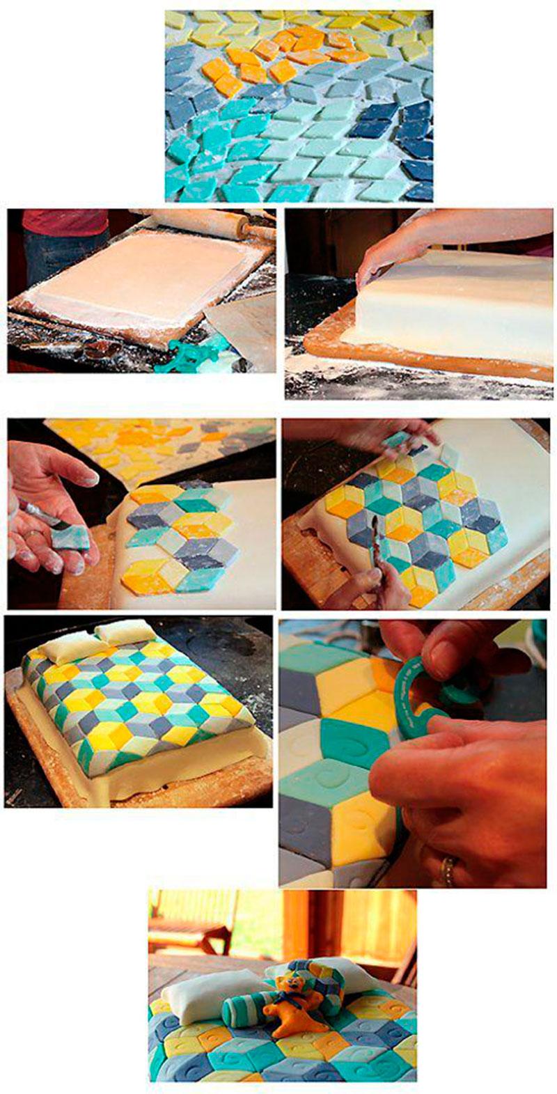 Montar bolo infantil 32