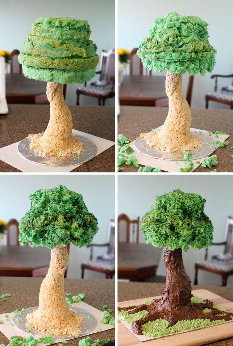 Montar bolo infantil 31