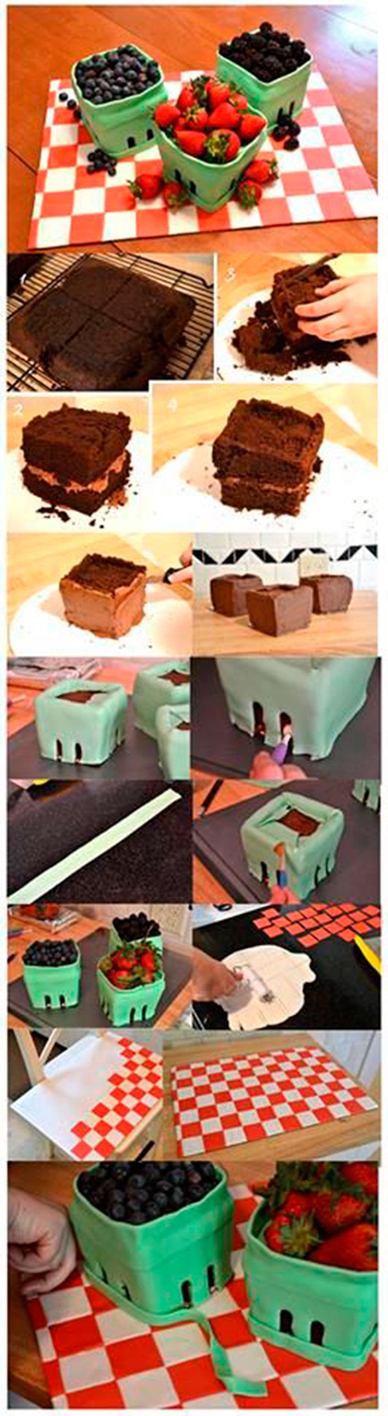 Montar bolo infantil 28