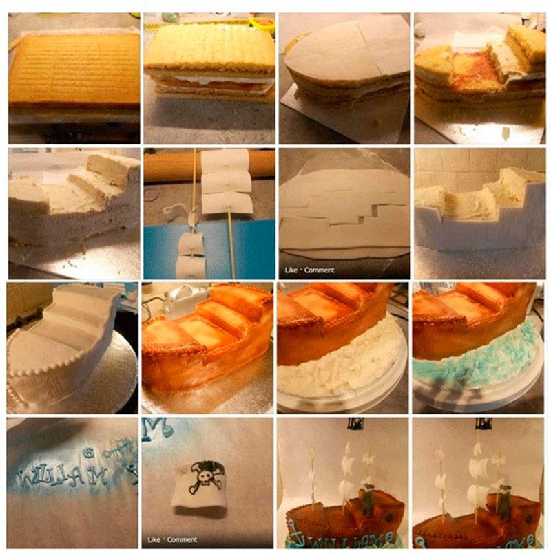 Montar bolo infantil 27