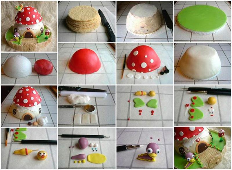 Montar bolo infantil 21