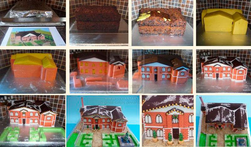Montar bolo infantil 20