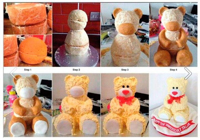 Montar bolo infantil 17