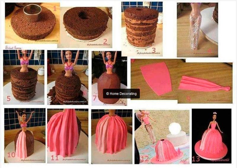 Montar bolo infantil 16