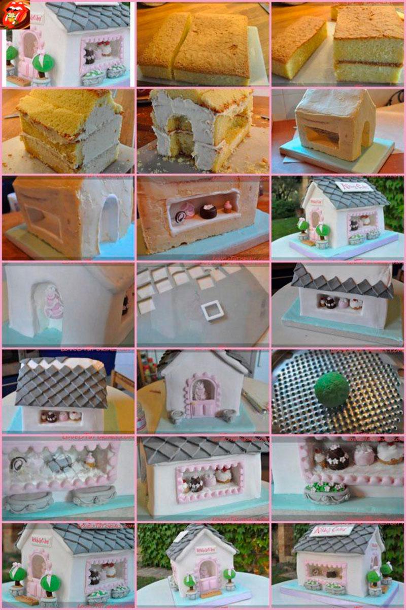Montar bolo infantil 14