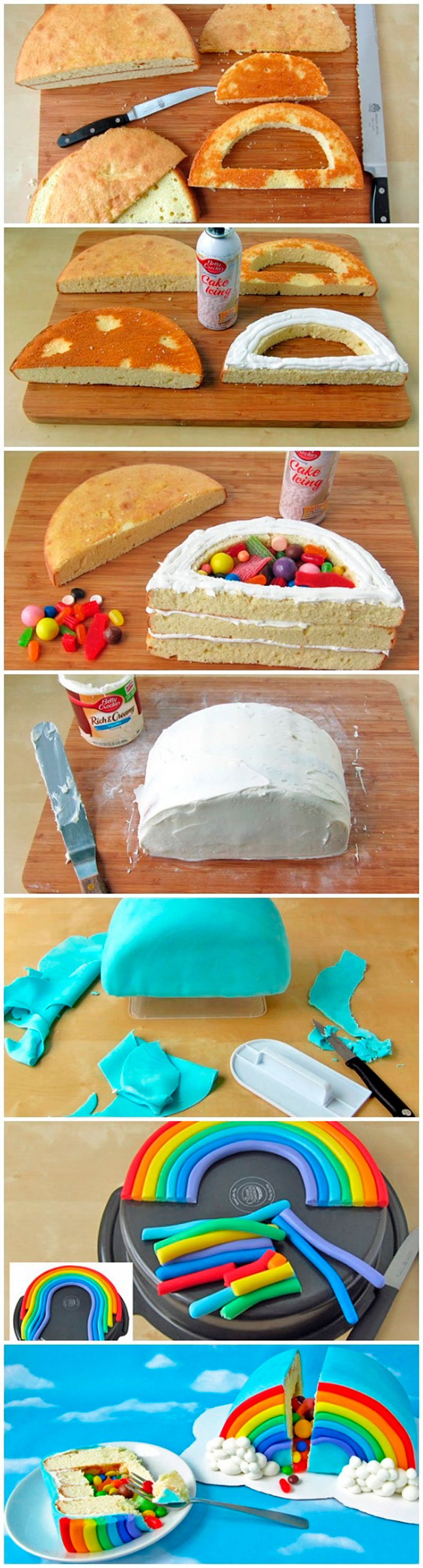 Montar bolo infantil 12