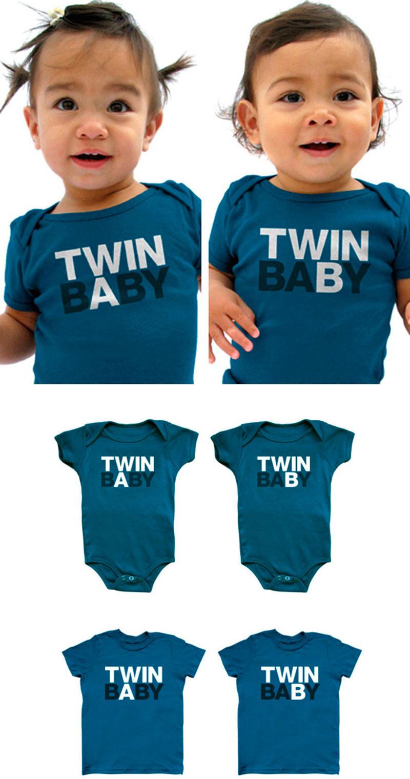 combinando as roupas de gêmeos