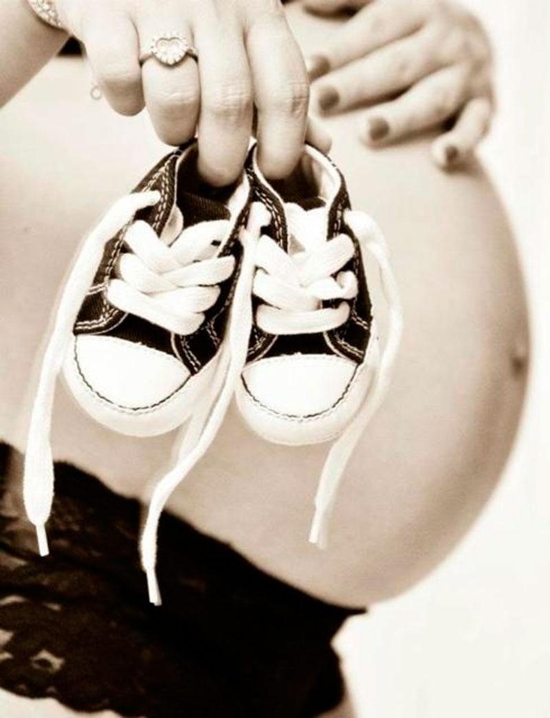 sapato do bebe