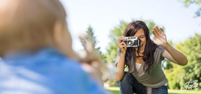 7 truques para fazer fotos de bebê em casa
