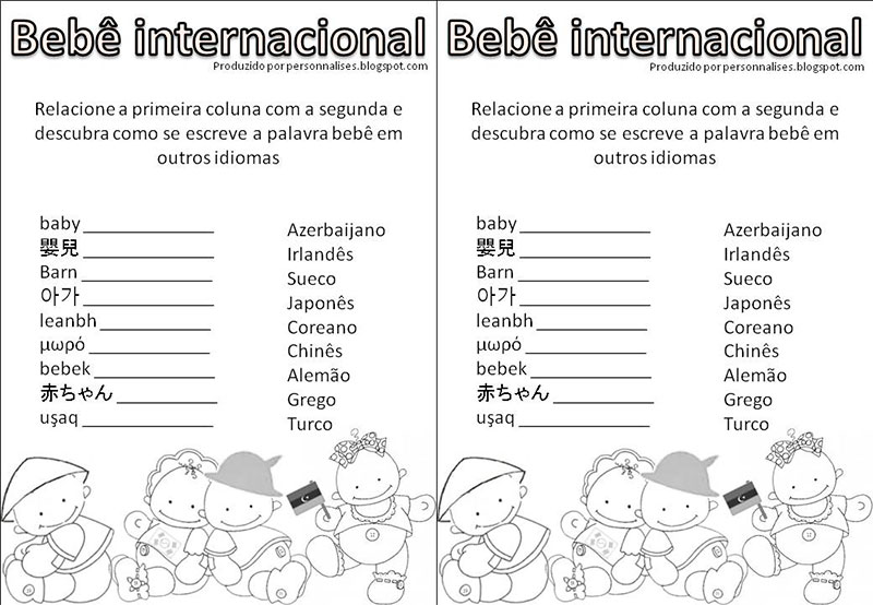 bebe-internacional -Chá de bebê