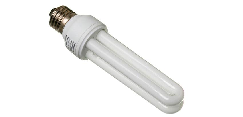 lâmpadas florescentes brancas