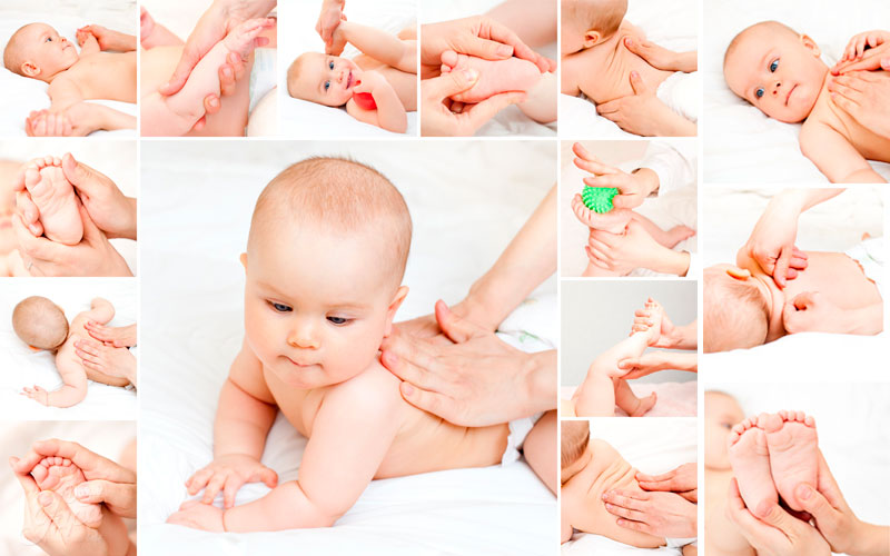 Shantala para relaxar o bebê