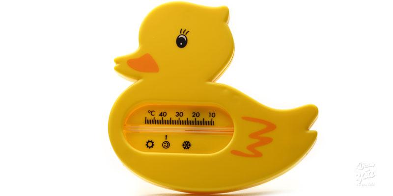 medidor para agua do banho do bebe