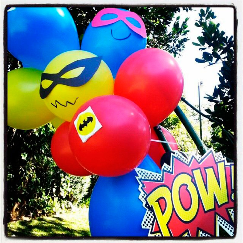 Balão dos heróis