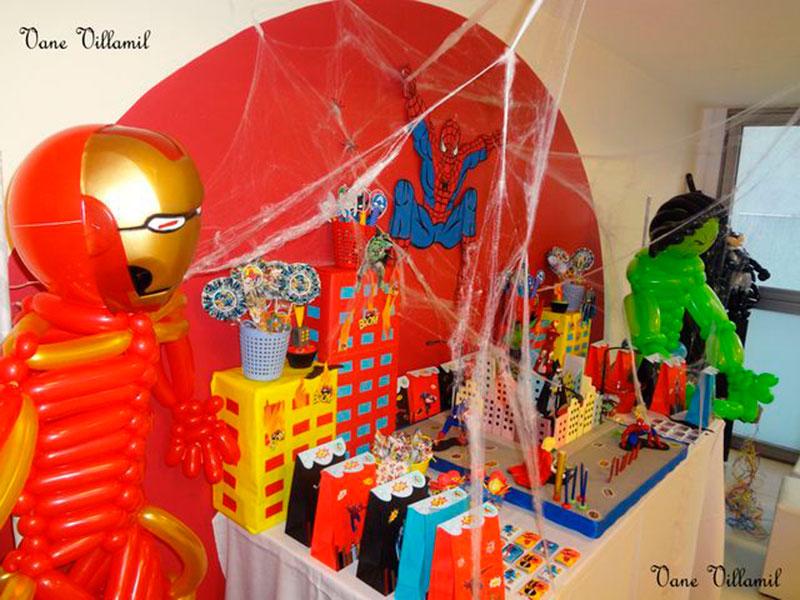 Festa do homem aranha e cia