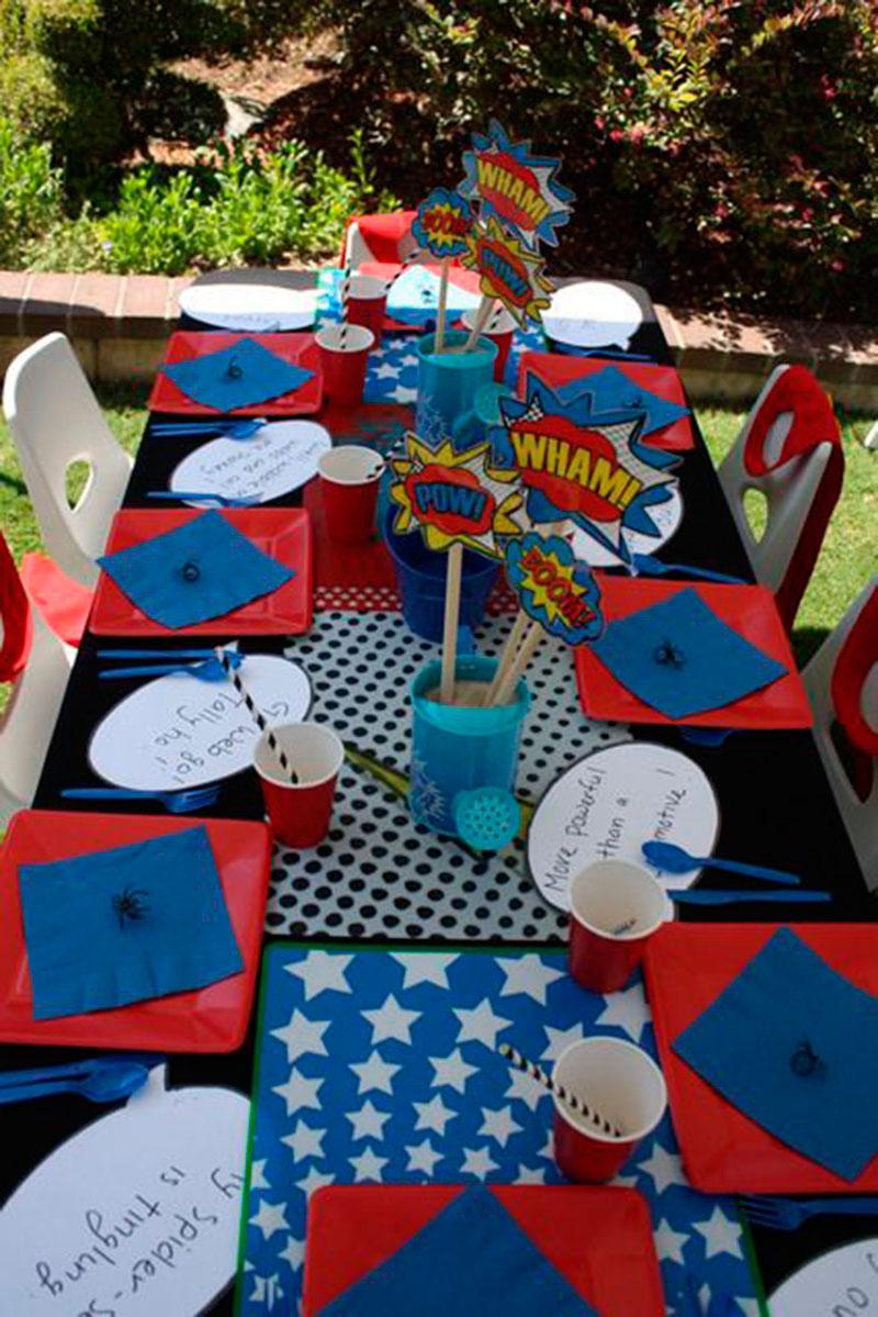 Mesa para os convidados mirim 2