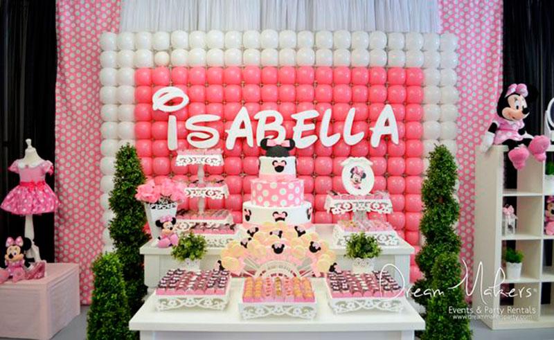 aniversario da minnie Isabella